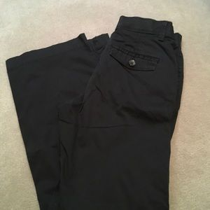Lee no gap waist black size 6 pants